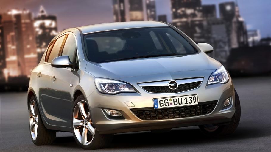 Лобовое, боковое, заднее автостекло Opel Astra J 2009-