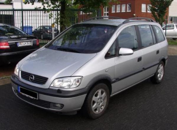 Лобовое, боковое, заднее автостекло Opel Zafira I 1998-