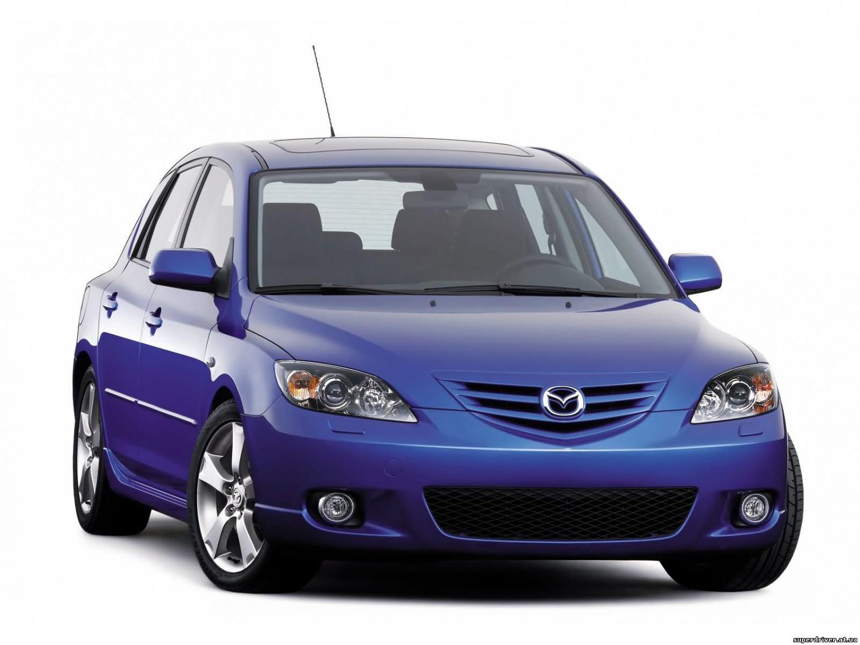Лобовое, боковое, заднее автостекло Mazda 2 2002-