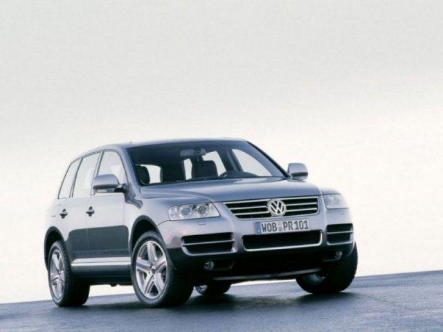 Лобовое, боковое, заднее автостекло VW Touareg I