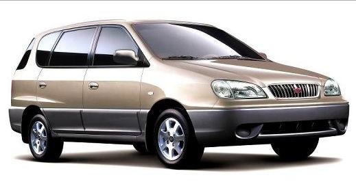 Лобовое, боковое, заднее автоостекло KIa Carens I 1999-2002