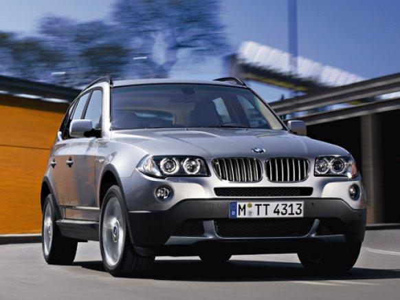 Лобовое, боковое, заднее автостекло BMW X3 E83 в Уфе.