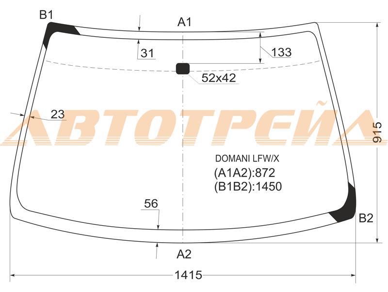 Продажа и замена автостекол Honda Civic 5D 1994-2000. Лобовое, боковое, заднее автостекло Honda Civic 5D 1994-2000