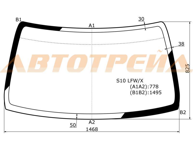 Продажа и замена автостекол Honda CRV1. Лобовое, боковое, заднее автостекло Honda CRV1