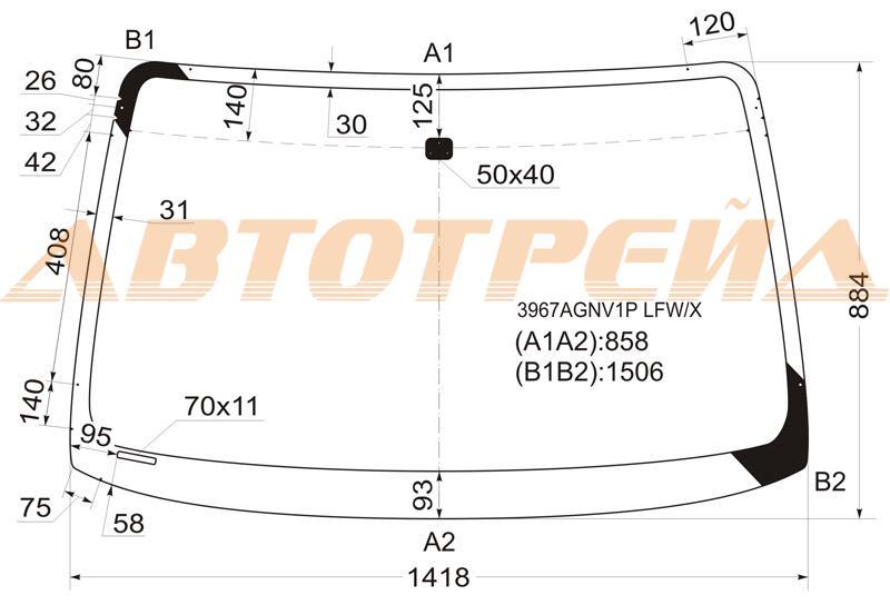 Продажа и замена автостекол Honda HRV. Лобовое, боковое, заднее автостекло Honda Honda HRV