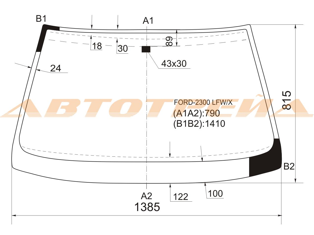 Продажа и замена автостекол Ford Scorpio 1. Лобовое, боковое, заднее автостекло Ford Scorpio 1