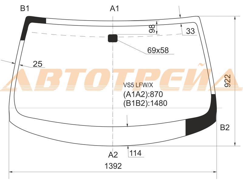 Продажа и замена автостекол Infiniti G35. Лобовое, боковое, заднее автостекло Infiniti G35