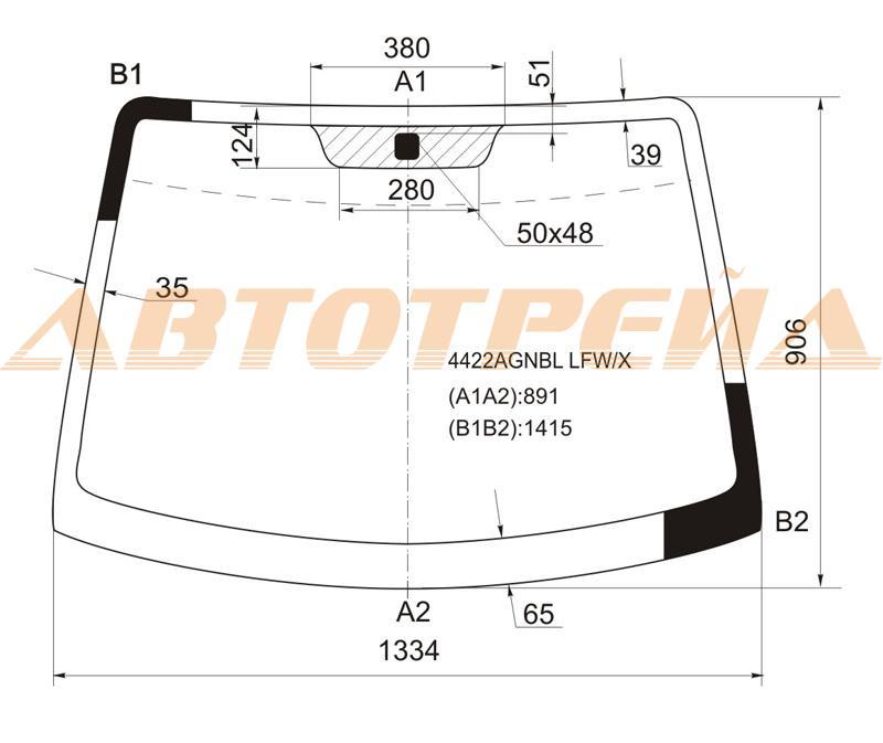 Продажа и замена автостекол Kia Picanto 2004. Лобовое, боковое, заднее автостекло Kia Picanto 2004