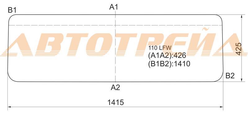 Продажа и замена автостекол Land Rover Defender. Лобовое, боковое, заднее автостекло Land Rover Defender