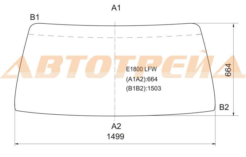Продажа и замена автостекол Mazda Bongo. Лобовое, боковое, заднее автостекло Mazda Bongo