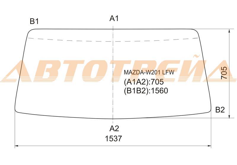 Продажа и замена автостекол Mazda Titan 1989. Лобовое, боковое, заднее автостекло Mazda Titan 1989
