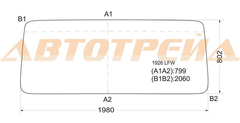 Продажа и замена автостекол Mercedes 207-307. Лобовое, боковое, заднее автостекло Mercedes 207-307