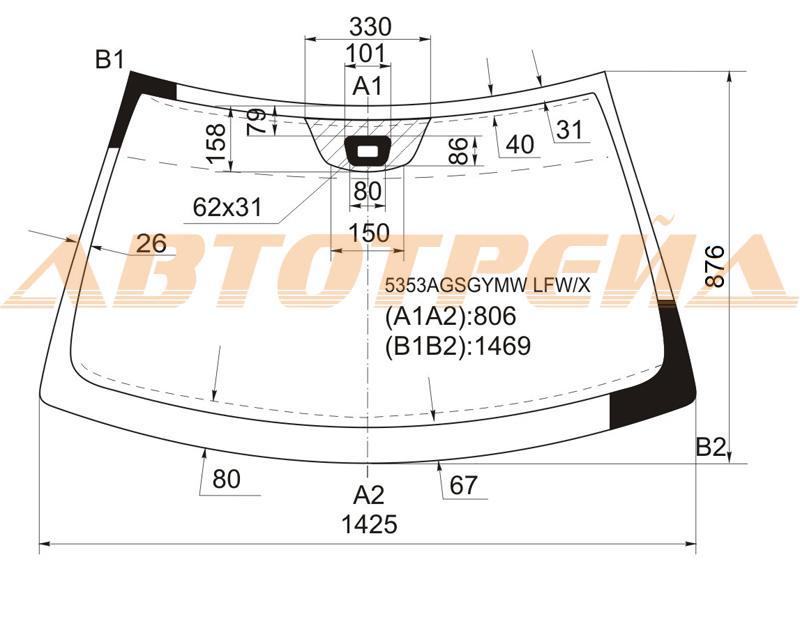 Продажа и замена автостекол Mercedes 209 CPE. Лобовое, боковое, заднее автостекло Mercedes 209 CPE