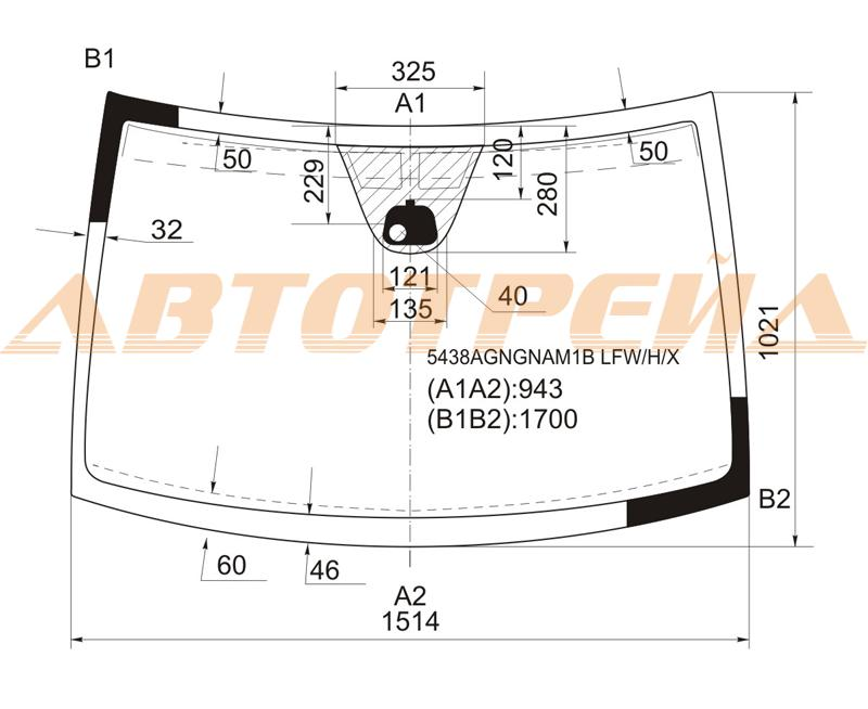 Продажа и замена автостекол Mercedes Vito 639. Лобовое, боковое, заднее автостекло Mercedes Vito 639