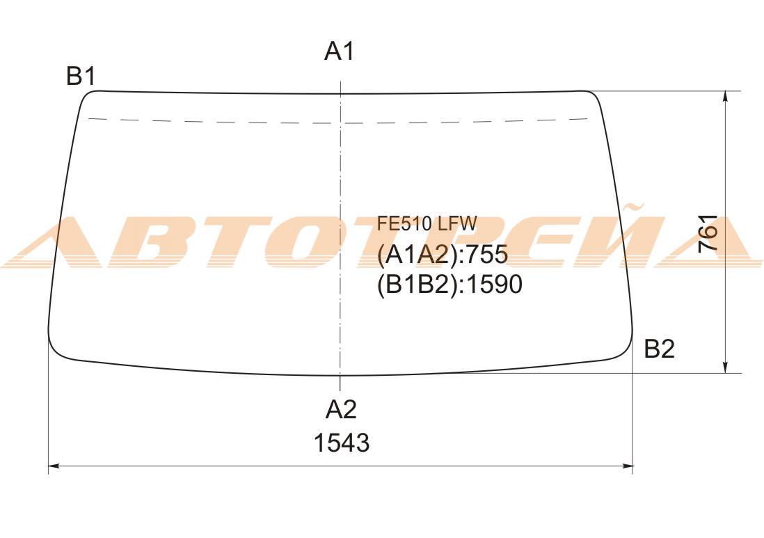 Продажа и замена автостекол Mitsubishi Canter. Лобовое, боковое, заднее автостекло Mitsubishi Canter