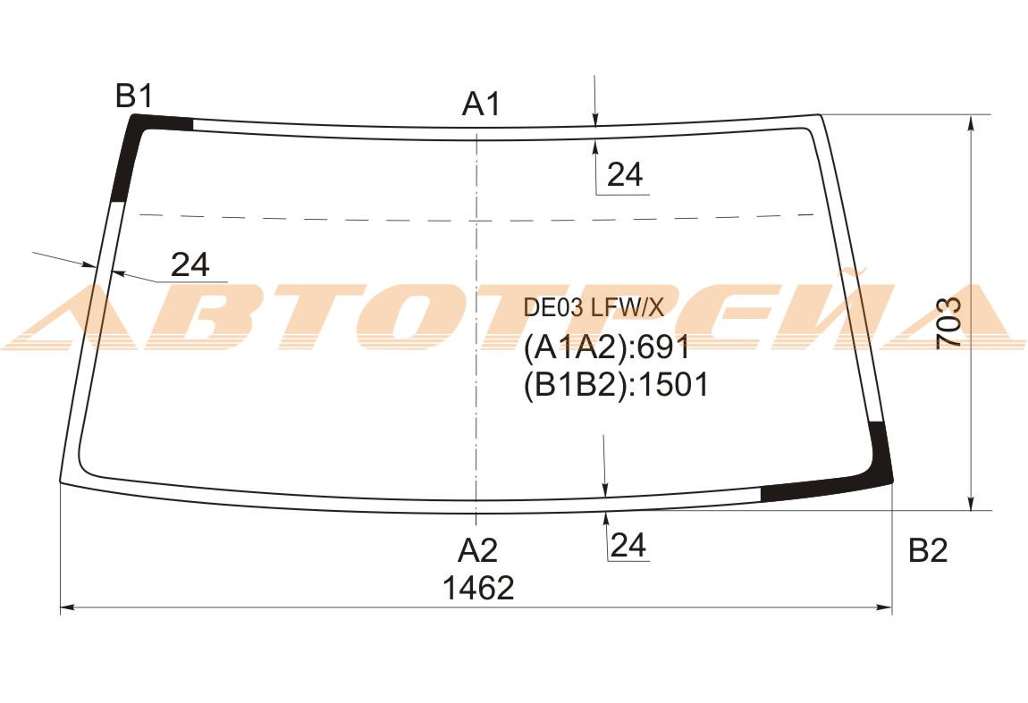 Продажа и замена автостекол Mitsubishi L300. Лобовое, боковое, заднее автостекло Mitsubishi L300