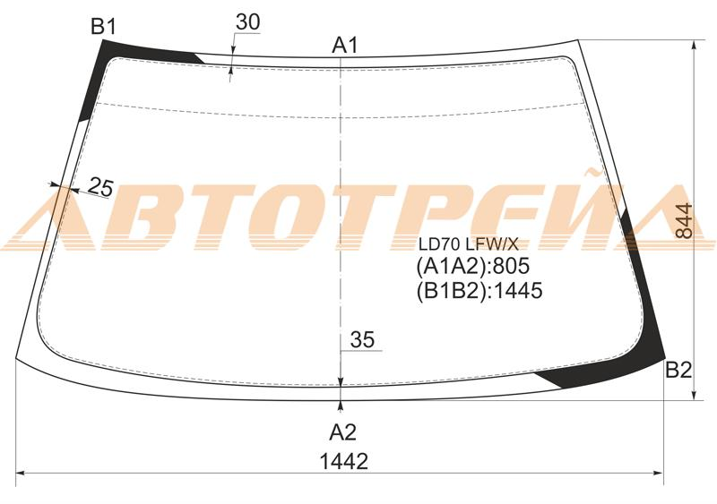 Продажа и замена автостекол Mitsubishi Lancer V. Лобовое, боковое, заднее автостекло Mitsubishi Lancer V