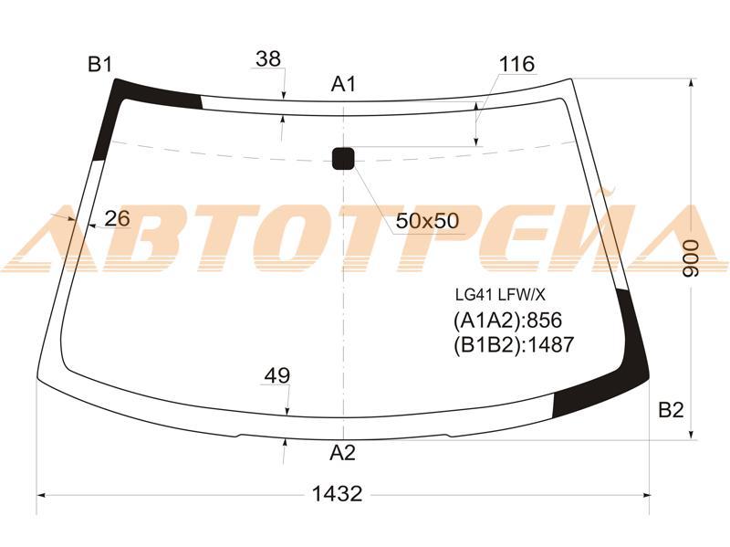 Продажа и замена автостекол Mitsubishi Lancer 8. Лобовое, боковое, заднее автостекло Mitsubishi Lancer 8