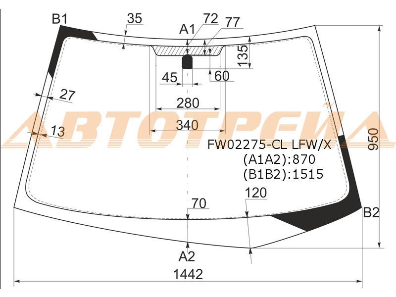 Продажа и замена автостекол Mitsubishi Lancer 9. Лобовое, боковое, заднее автостекло Mitsubishi Lancer 9