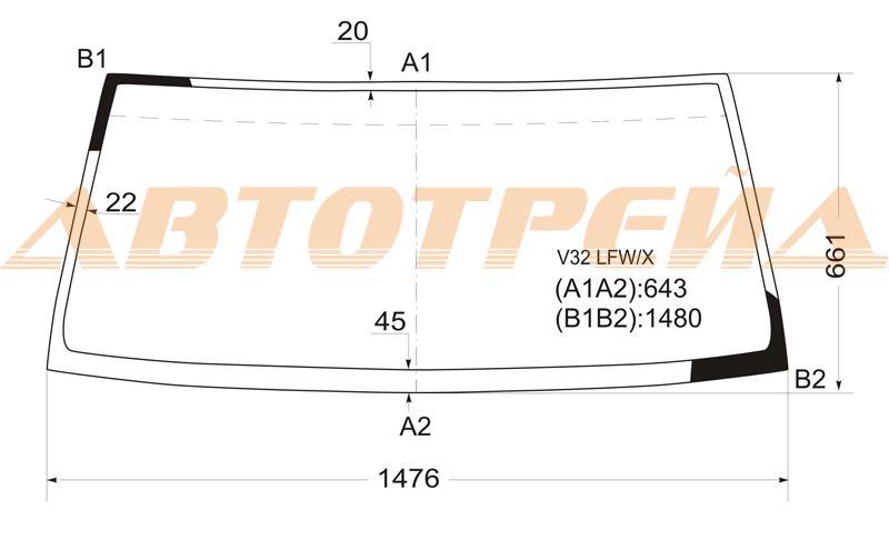 Продажа и замена автостекол Mitsubishi Pajero 2. Лобовое, боковое, заднее автостекло Mitsubishi Pajero 2