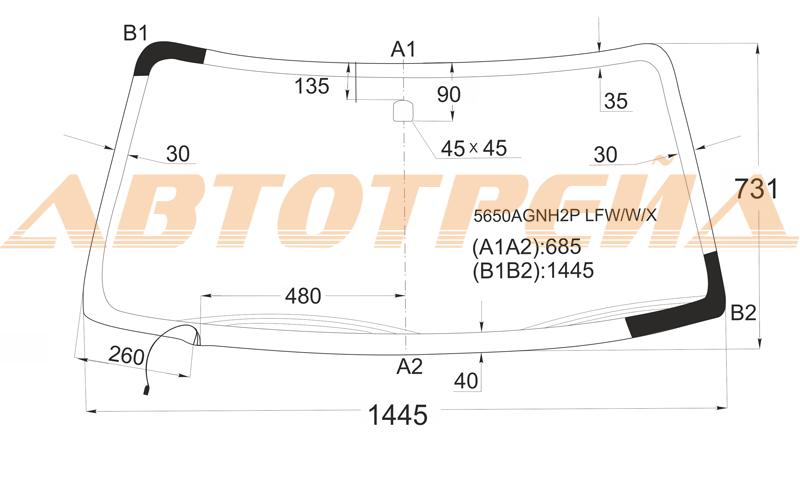 Продажа и замена автостекол Mitsubishi Pajero Sport 1. Лобовое, боковое, заднее автостекло Mitsubishi Pajero Sport 1