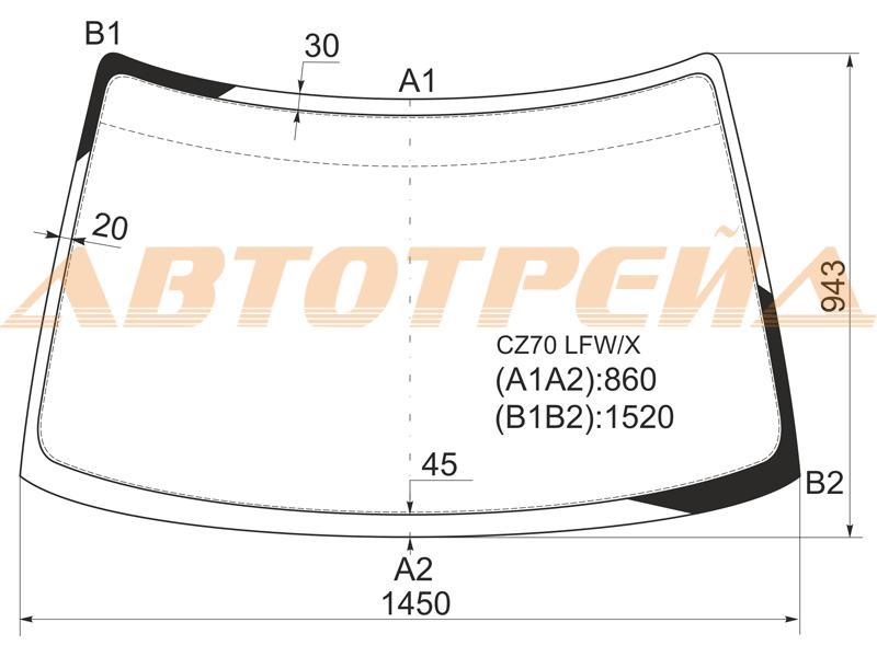 Продажа и замена автостекол Mitsubishi RVR 1. Лобовое, боковое, заднее автостекло Mitsubishi RVR 1