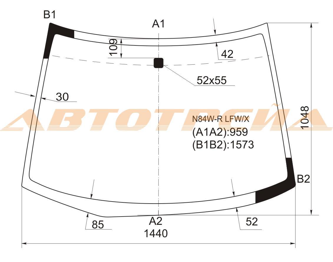 Продажа и замена автостекол Mitsubishi Space Wagon 3. Лобовое, боковое, заднее автостекло Mitsubishi Space Wagon 3