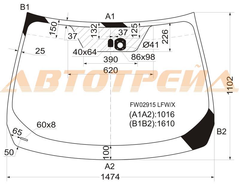 Продажа и замена автостекол Nissan Murano 2. Лобовое, боковое, заднее автостекло Nissan Murano 2