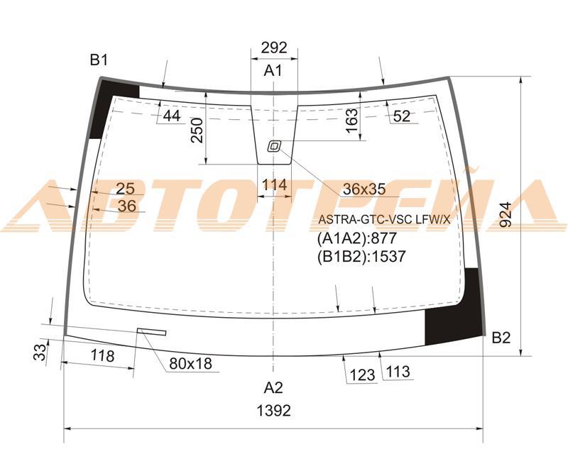 Продажа и замена автостекол Opel Astra H 3D GTC. Лобовое, боковое, заднее автостекло Opel Astra H 3D GTC