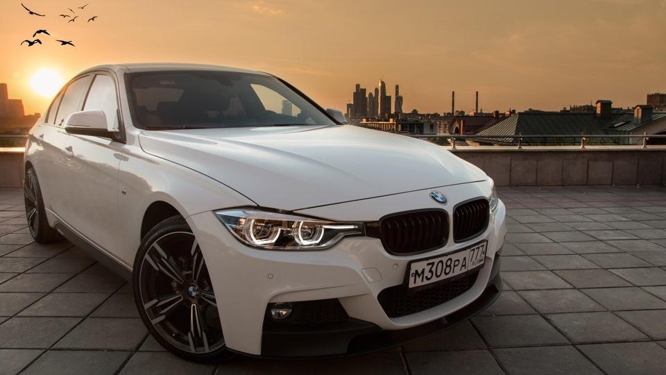 Продажа и замена переднего правого стекла BMW 3 F30