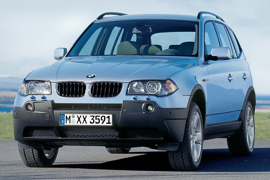 Продажа и замена переднего левого стекла BMW X3 E83