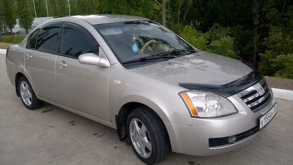 Продажа и замена переднего левого стекла Chery Fora