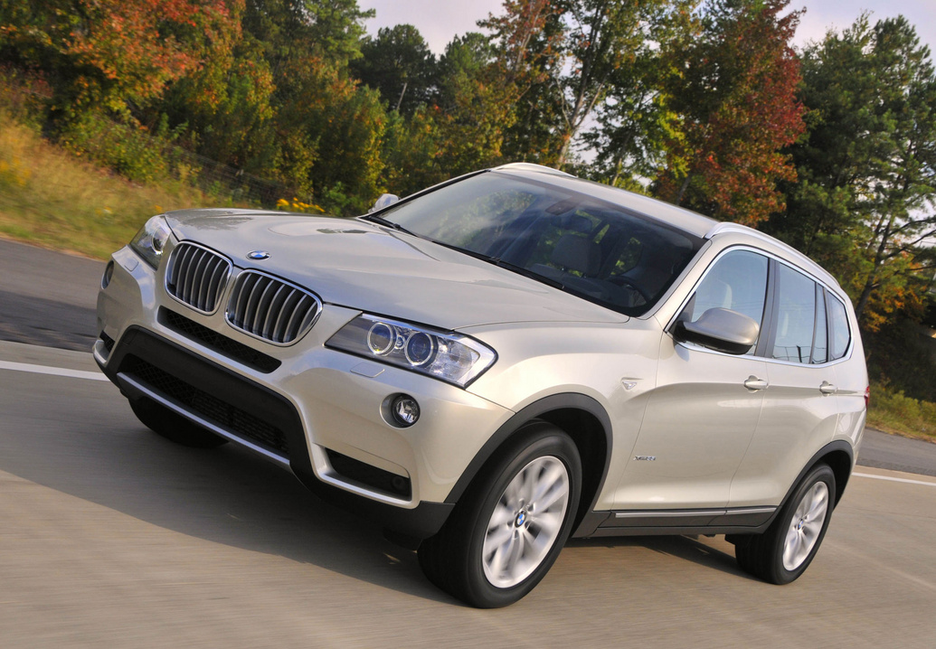 Продажа и замена переднего левого стекла BMW X3 F25