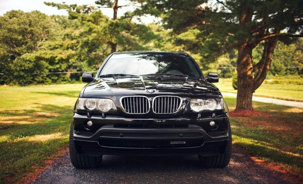 Продажа и замена переднего правого стекла BMW X5 E53