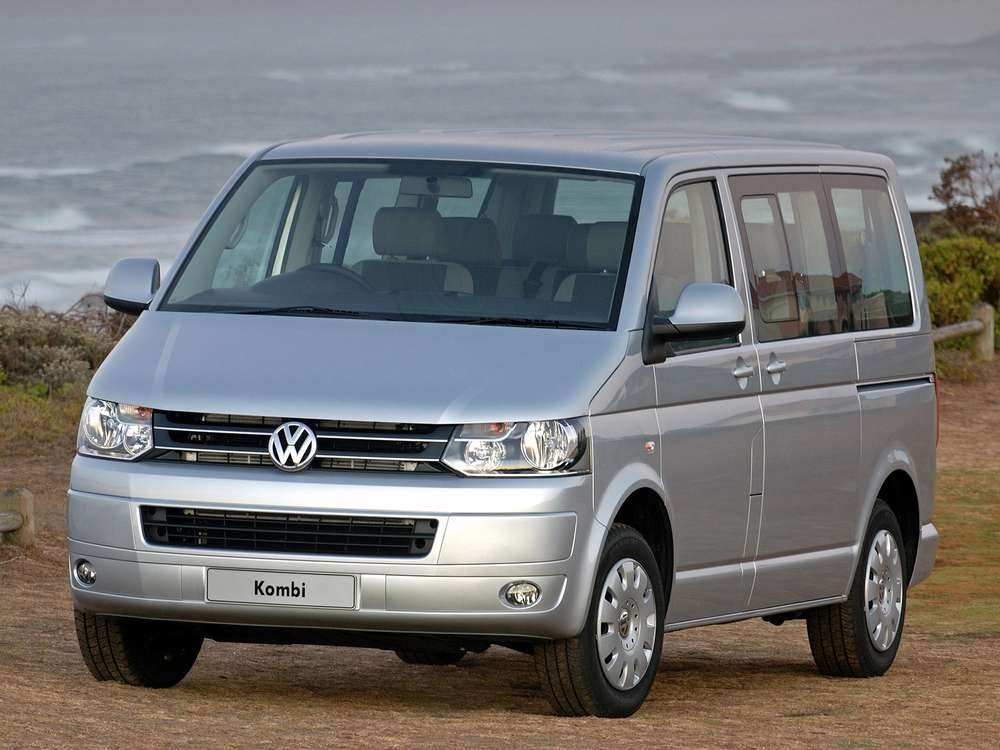 Лобовое стекло VW Transporter T5 (антенна)