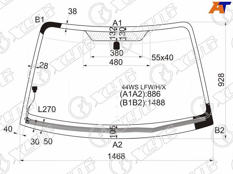Лобовое стекло Subaru Impreza 5D. Продажа и замена в Уфе.