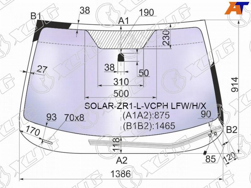 Лобовое стекло Subaru Impreza ZR1. Продажа и замена в Уфе.