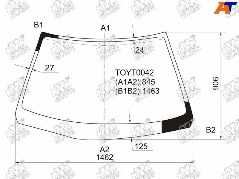 Лобовое стекло Toyota Camry SV32. Продажа и замена в Уфе.