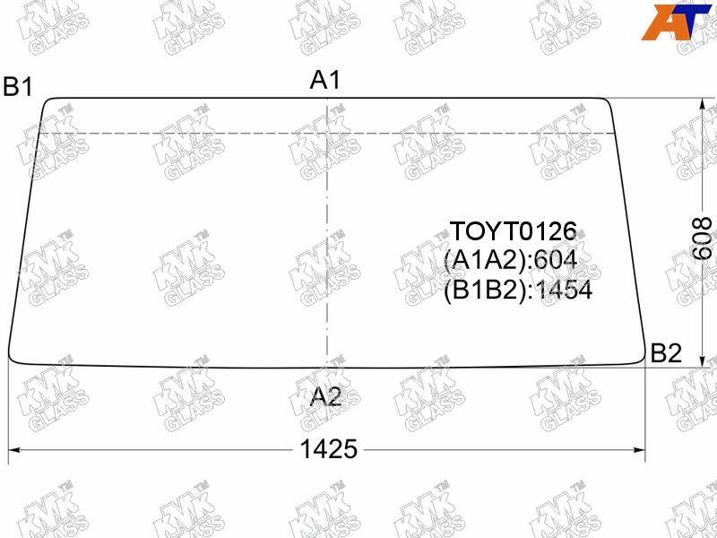 Лобовое стекло Toyota Land Cruiser 70. Продажа и замена в Уфе.