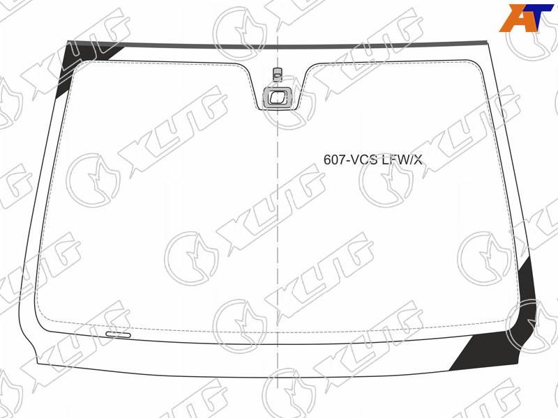 Лобовое стекло Peugeot 607