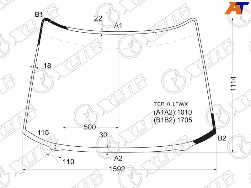 Лобовое стекло Toyota Previa. Продажа и замена в Уфе.