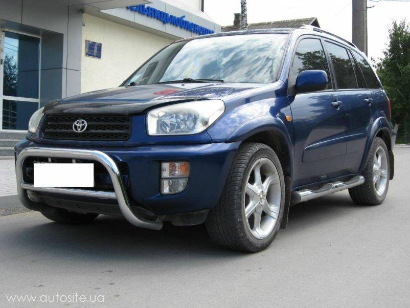 Лобовое стекло Toyota RAV-4 II. Продажа и замена в Уфе.