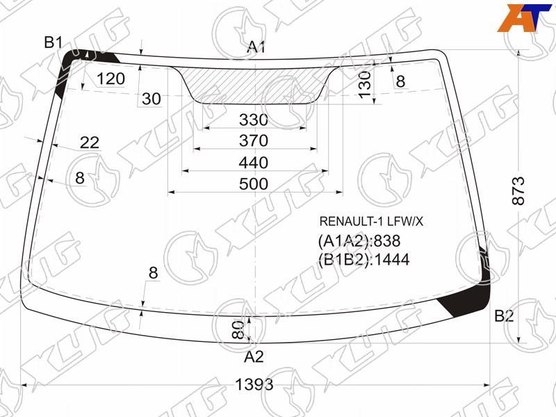 Лобовое стекло Renault Megane 1. Продажа и замена в Уфе.