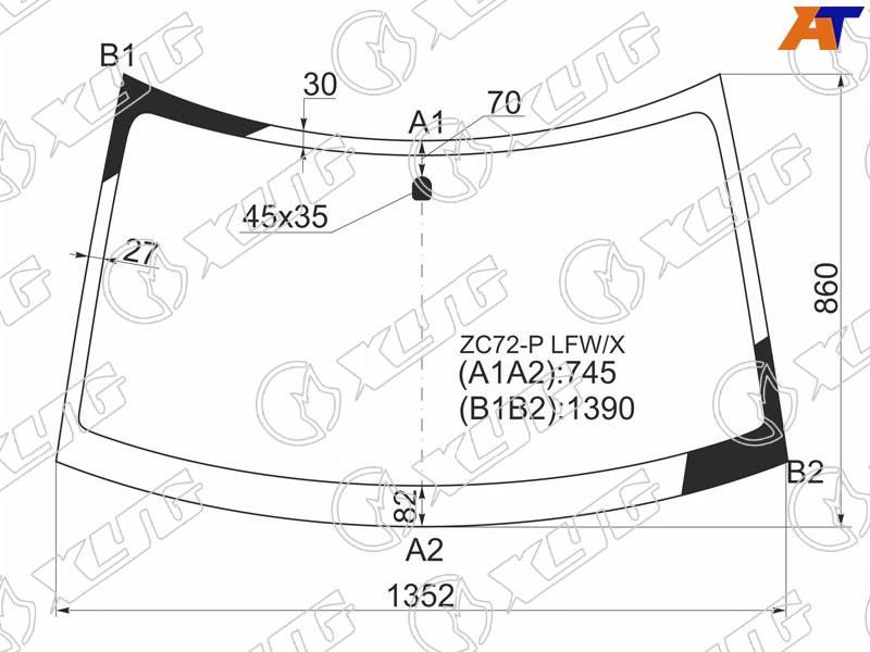 Лобовое стекло Suzuki Swift. Продажа и замена в Уфе.