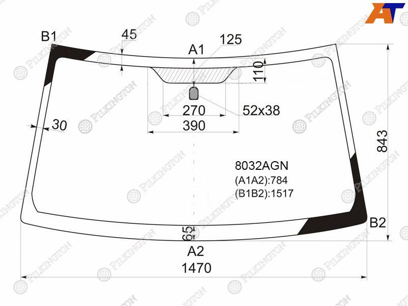 Лобовое стекло Suzuki Grand Vitara 3. Продажа и замена в Уфе.