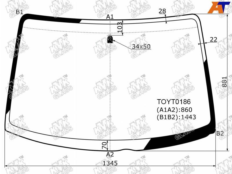 Лобовое стекло Toyota Funcargo. Продажа и замена в Уфе.