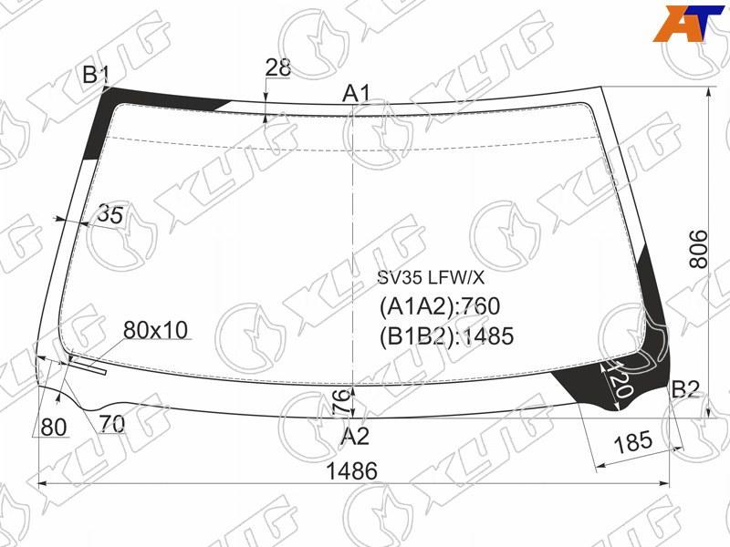 Лобовое стекло Toyota Camry 10. Продажа и замена в Уфе.