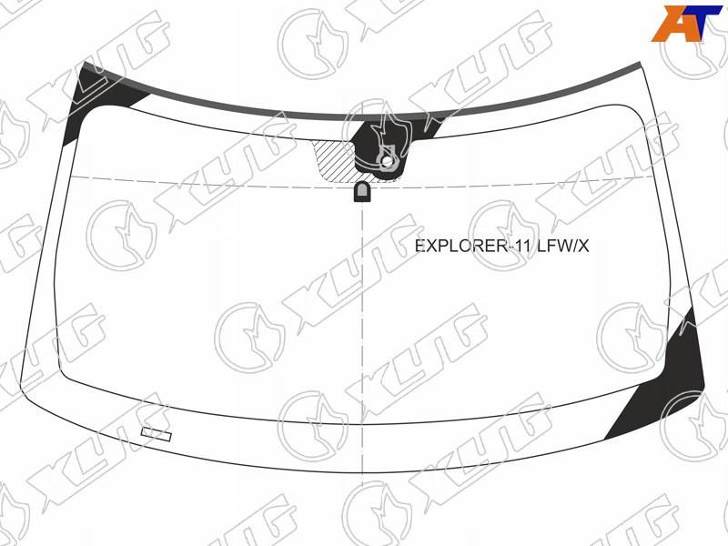 Лобовое стекло Ford Explorer V в Уфе.